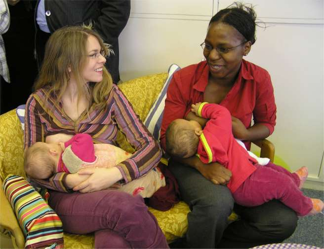 Weight Loss Tips: Breastfeed Your Baby! - Health Care Zone
