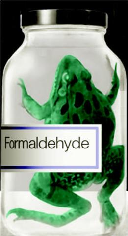 care salons has been found to contain formaldehyde yes formaldehydeFormaldehyde