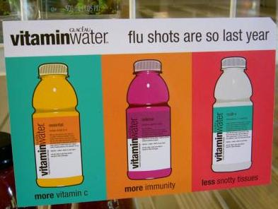 vitamin water prevent flu