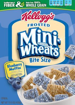 fake blueberries kellogs miniwheats