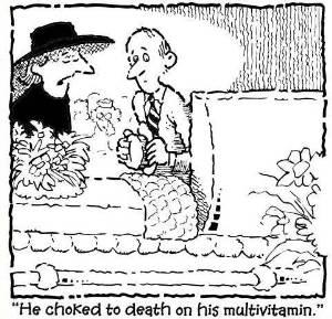 multivatimins can be dangerous