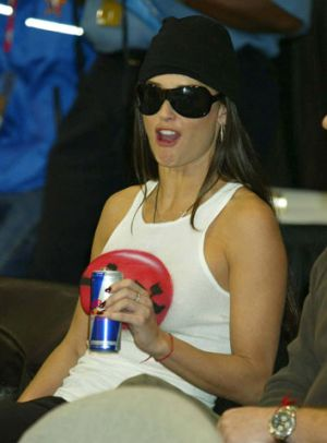 red bull addiction demi moore