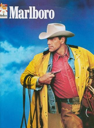 celebrity lung cancer - marlboro man - Wayne McLaren